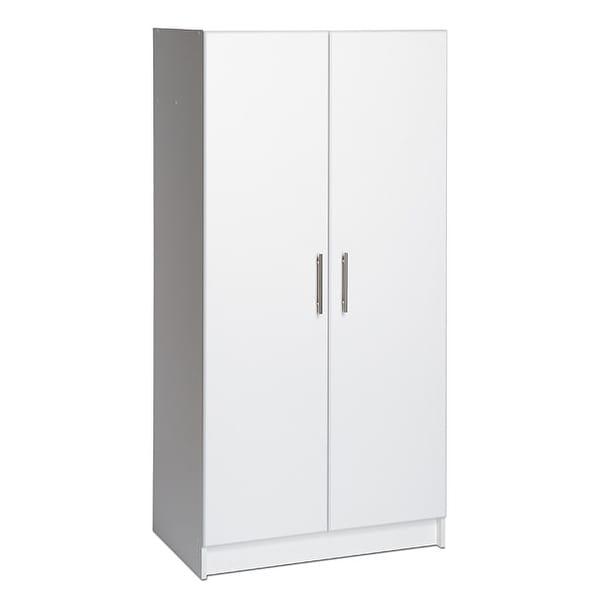 Prepac 'Winslow Elite' 32-inch Brown Storage Cabinet - 32 Inch - 32 Inch. Opens flyout.