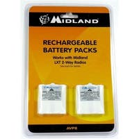 Midland 4T8307 Rechargeable Batteries for GMRS LXT 300 Series Radios