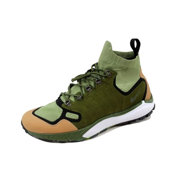 Nike Men's Air Zoom Talaria Mid Flyknit Premium Palm Green/Legion Green 875784-300