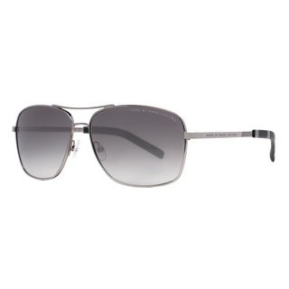 MARC BY MARC JACOBS Aviator MMJ 342/S Unisex 6LB/JJ Ruthenium Gray Gradient Sunglasses - 59mm-14mm-135mm