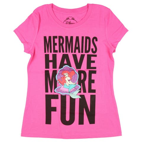 Disney Princess Junior's Mermaids Have More Fun T-Shirt