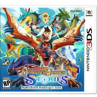 Nintendo Ctrpaahe Monster Hunter Stories Role Playing Game For Nintendo 3Ds