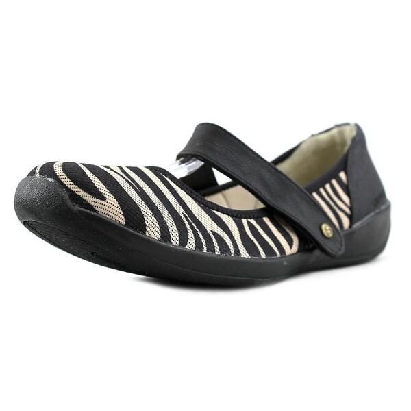 Stretchies Margaret II Zebra Flats