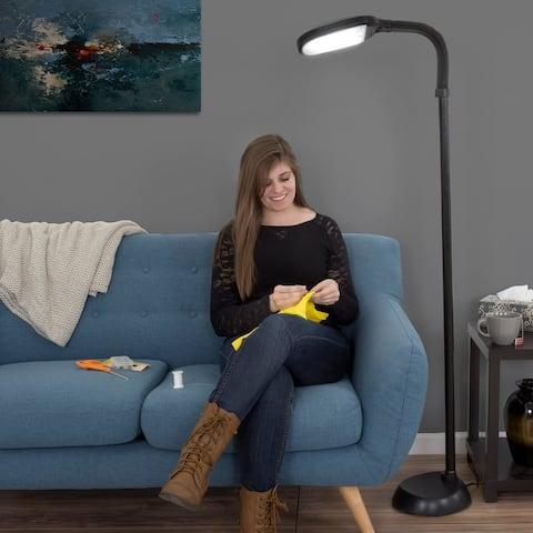 Natural Full Spectrum Sunlight Reading Floor Lamp by Windsor Home 5 Feet