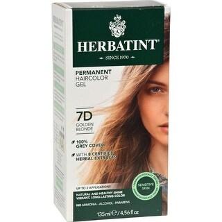 Herbatint - Permanent Herbal Haircolour Gel 7D - Golden Blonde ( 1 - CT)