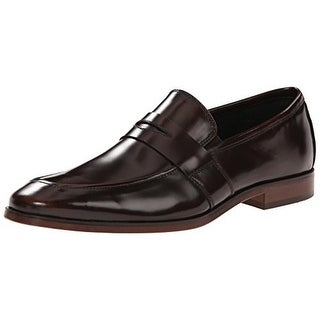 Florsheim Mens Sonic Patent Leather Apron Toe Penny Loafers