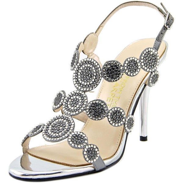 E! Live From The Red Carpet E0036 Open Toe Canvas Sandals