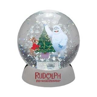 Rudolph & Bumble Waterdazzler Snow Globe
