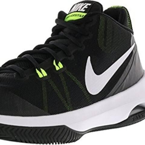 Nike Men's Air Versitile Nbk Basketball-Shoes - WHITE/WHITE/LIGHT