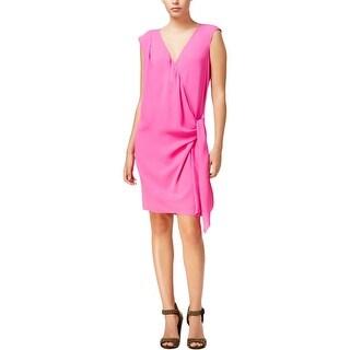 Rachel Rachel Roy Womens Party Dress Draped Faux Wrap (4 options available)