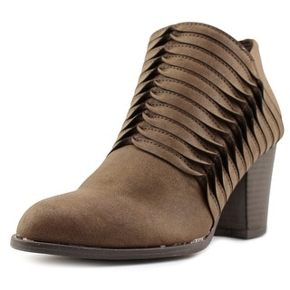 Fergalicious Calhoun Women  Round Toe Synthetic Brown Ankle Boot