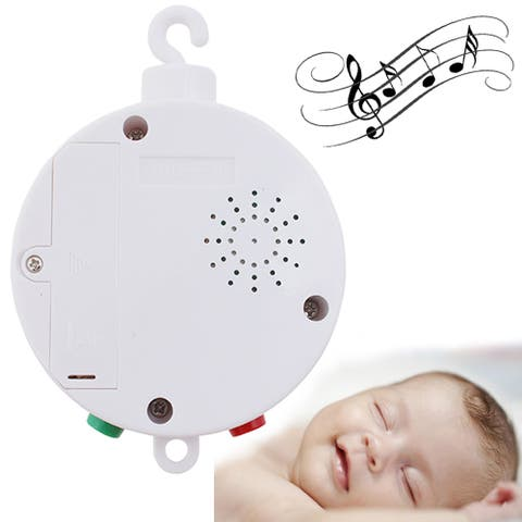 Baby Musical Mobile for Crib Battery-operated Music Box w/ 12 Tunes Pass CE/RoHs Standard - 9' x 12'