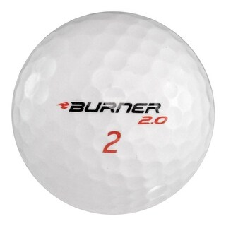 24 TaylorMade Burner - Value (AAA) Grade - Recycled (Used) Golf Balls