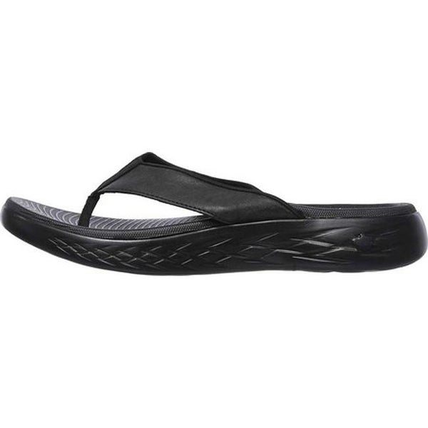 Shop Skechers Men's On the GO 600 Seaport Thong Sandal Black