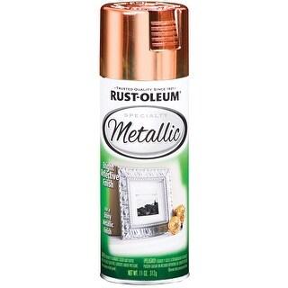 Rust-Oleum Metallic Spray Paint 11oz-Copper - GOLD
