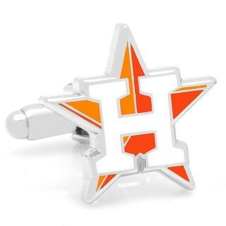 Houston Astros Cufflinks - Orange