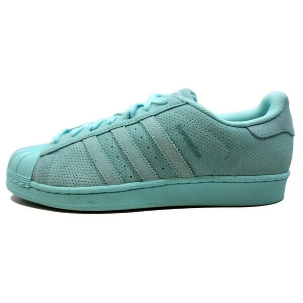Adidas Men's Superstar RT Aqua/Aqua Suede AQ4916