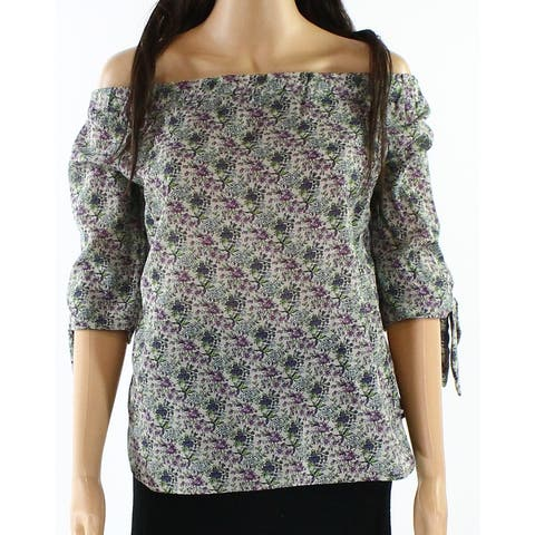 Willow & Clay Floral Printed Women's Medium Blouse