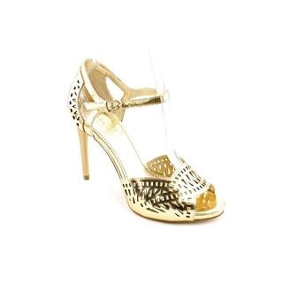 Ivanka Trump Ariell Women Open Toe Leather Sandals