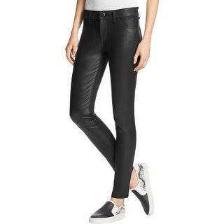 DL1961 Womens Emma Leggings Leather Textured