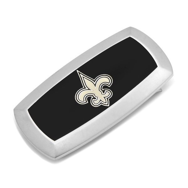 New Orleans Saints Cushion Money Clip