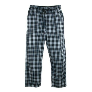 Hanes Men's Woven Plaid Drawstring Sleep Pajama Pants (Option: S - Red)