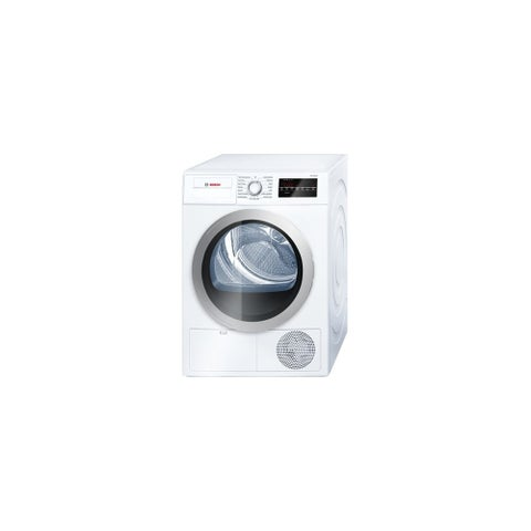 Bosch WTG86401U 24 Inch Wide 4 Cu. Ft. Energy Star Rated Electric Dryer with Ventless Condensation Drying - White