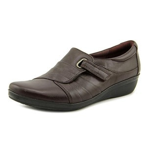 Clarks Narrative Everlay Luna Women N/S Round Toe Leather Loafer