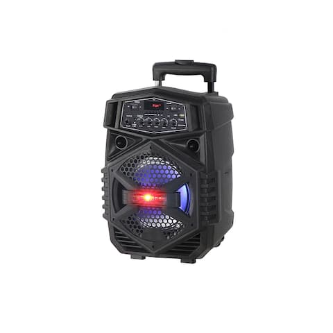 """8"""" Powered Rechargeable PA Speaker"""