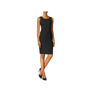 Kasper Womens Petites Cocktail Dress Special Occasion Knee-Length