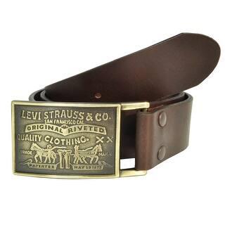 Levis Men's Leather Bridle Belt with Antiqued Removable Plaque Buckle https://ak1.ostkcdn.com/images/products/is/images/direct/7f392820410e0ff029ab6066e9538b2d78a5ef1a/Levis-Men%27s-Leather-Bridle-Belt-with-Antiqued-Removable-Plaque-Buckle.jpg?impolicy=medium