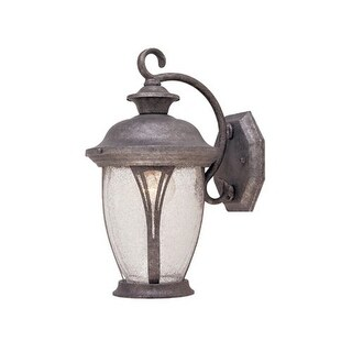 """Designers Fountain 30511-RS 1 Light 7"""" Wall Lantern from the Westchester Collection"""