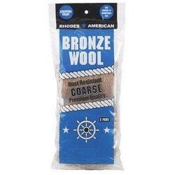 Homax 123102 Coarse Bronze Steel Wool Pads, 3 Pack