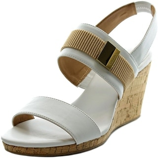 Calvin Klein Brandie Women Open Toe Synthetic Wedge Sandal