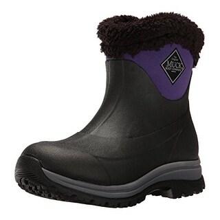 Muck Boots Black/Parachute Purple Women's Arctic Apres Slip-on Boot - Size 10