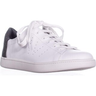 VINCE Varin Lace Up Fashion Sneakers, Grey