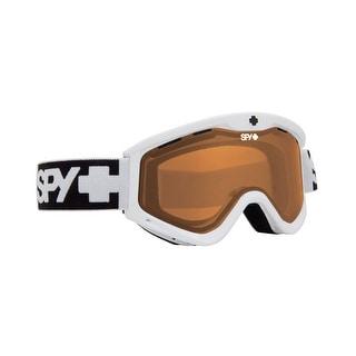 Spy Optic 310809631852 Targa3 T3 Snow Ski Goggles White Persimmon