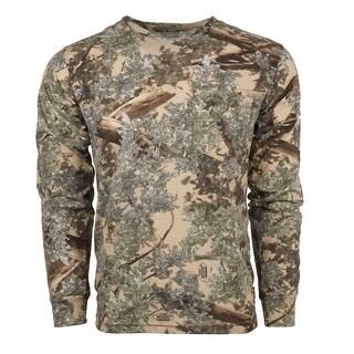 Classic Cotton Long Sleeve Tee Desert Shadow - Camouflage