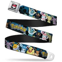 Pok Ball Full Color Black Pokmon Eevee Evolution Pokmon Pok Balls Black Seatbelt Belt