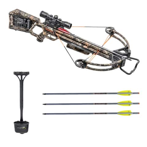TenPoint Wicked Ridge Invader X4 Crossbow with Scope Bundle