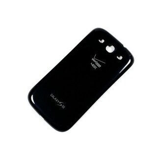 OEM Samsung Battery Door Back Cover for Samsung Galaxy S3 (Black)