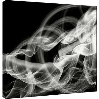 """PTM Images 9-101067  PTM Canvas Collection 12"""" x 12"""" - """"Smoke Abstract"""" Giclee Abstract Art Print on Canvas"""