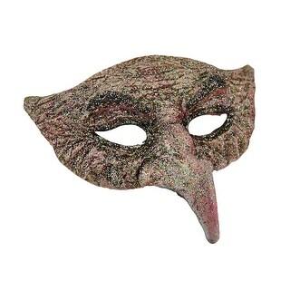 Glittery Molded Pantalone Style Half Face Mask