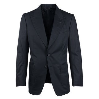 Tom Ford Black Pure Cotton Shelton Sport Jacket - 38 r