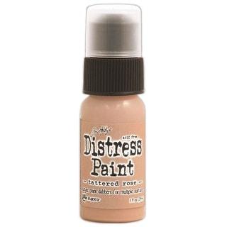 Distress Paint Dabber 1oz-Tattered Rose