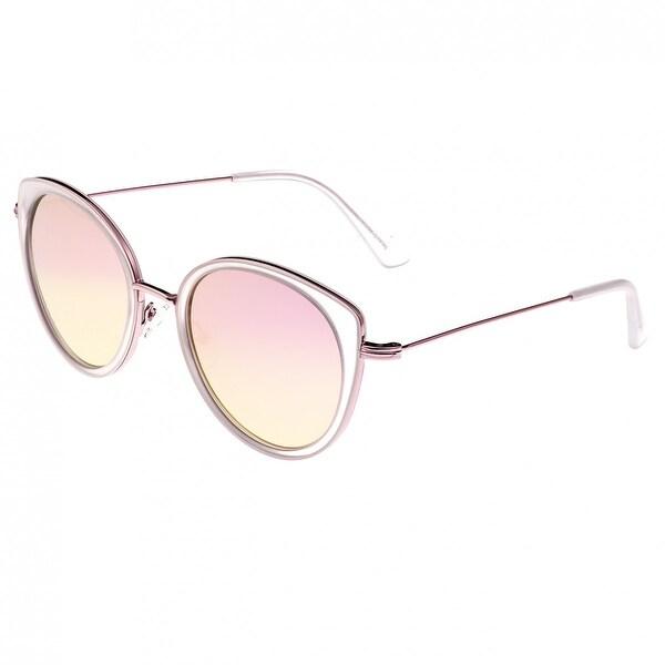 8127c81af29 Shop Bertha Sasha Women s Metal Sunglasses - 100% UVA UVB Prorection ...