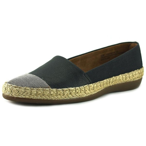 Aerosoles Trend Report Women Round Toe Synthetic Black Loafer