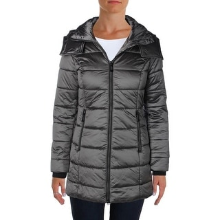Noize Womens Alice Puffer Coat Hooded Lined
