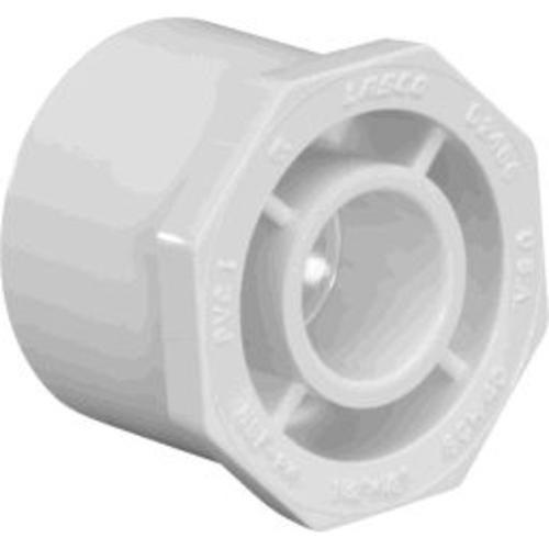 Charlotte Pipe & Found PVC 02107 1100 Pvc Reducing Bushing 1-1/2X3/4 - White