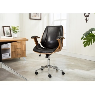 Link to Porthos Home Noah Adjustable Office Chair Similar Items in Home Office Furniture